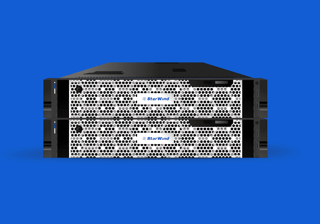 2 Node Hyper Converged Cluster with StarWind All-Flash HCA