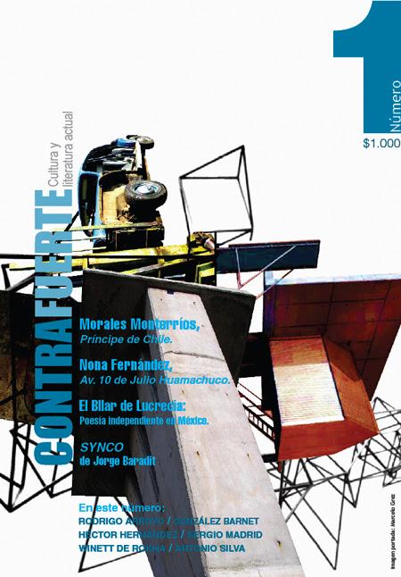 Blog de Revista CONTRAFUERTE.  Cultura y literatura actual