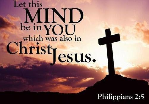 """""""Hãy mang trong anh em những tâm tư của Chúa Giêsu"""" (Phil 2,5)."""