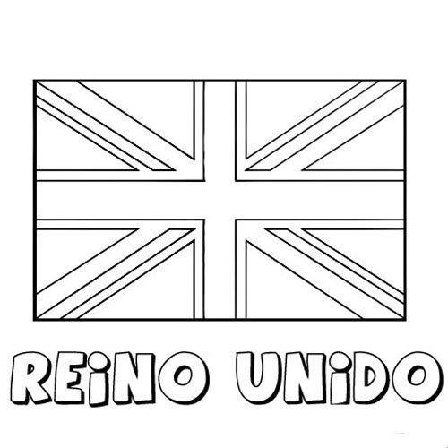 Bandera Inglesa Para Colorear Fondos De Escudos