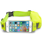 LENTION Vitality Series Dual Pocket Sport Waist Bag with Touch Phone Screen Function for 3.5-5 inch Phone (Green)
