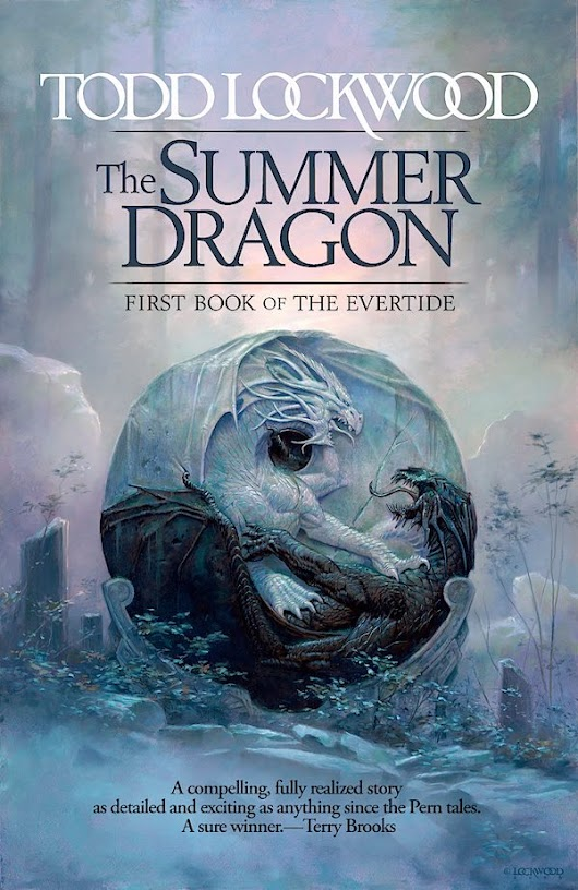 The Summer Dragon - Todd Lockwood's first novel
