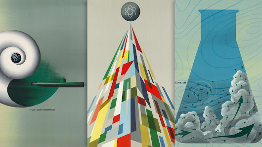 I Want These Atomic-Era Midcentury Modern Posters