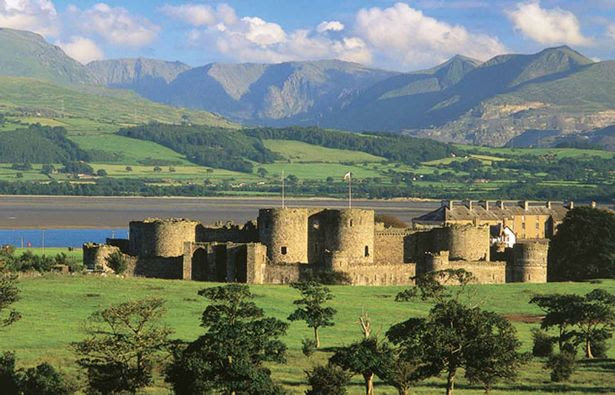 Beaumaris Castle - a great family day out.