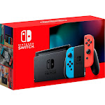 New Nintendo Switch Console with Neon Blue & Red Joy-Con