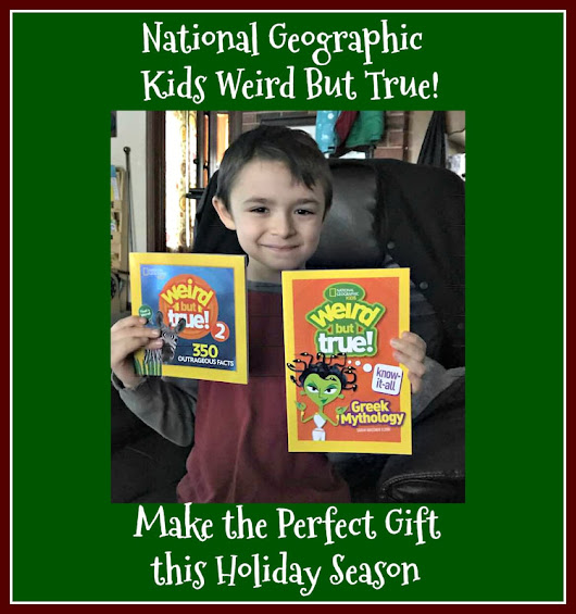 National Geographic Kids Weird But True! Book Bundle #GIVEAWAY #HGG #Partner 11/24
