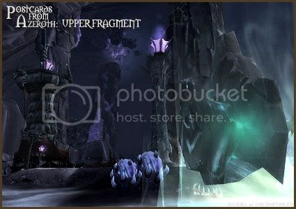 Postcards of Azeroth: Upper World-Pillar Fragment, by Rioriel Ail'thera of theshatar.eu