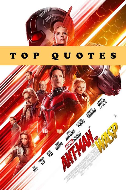 Ant-Man and the Wasp Quotes - Top Lines from the Movie - EnzasBargains.com