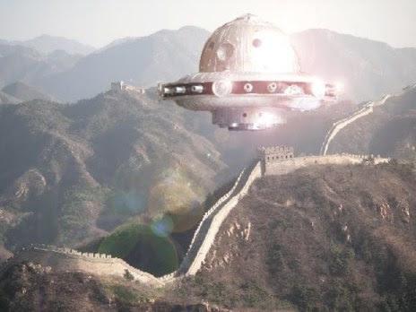 ovni - china piramides de china
