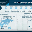 Coated Glass Market Expanding at 7.4% Growth Up to 2024 with Saint-Gobain, PPG Industries, Şişecam, Guardian Industries, SCHOTT, Pilkington to Be the Major Key Players