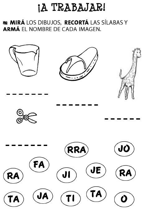 Actividades De Lectoescritura Para La Identificación Realización Y
