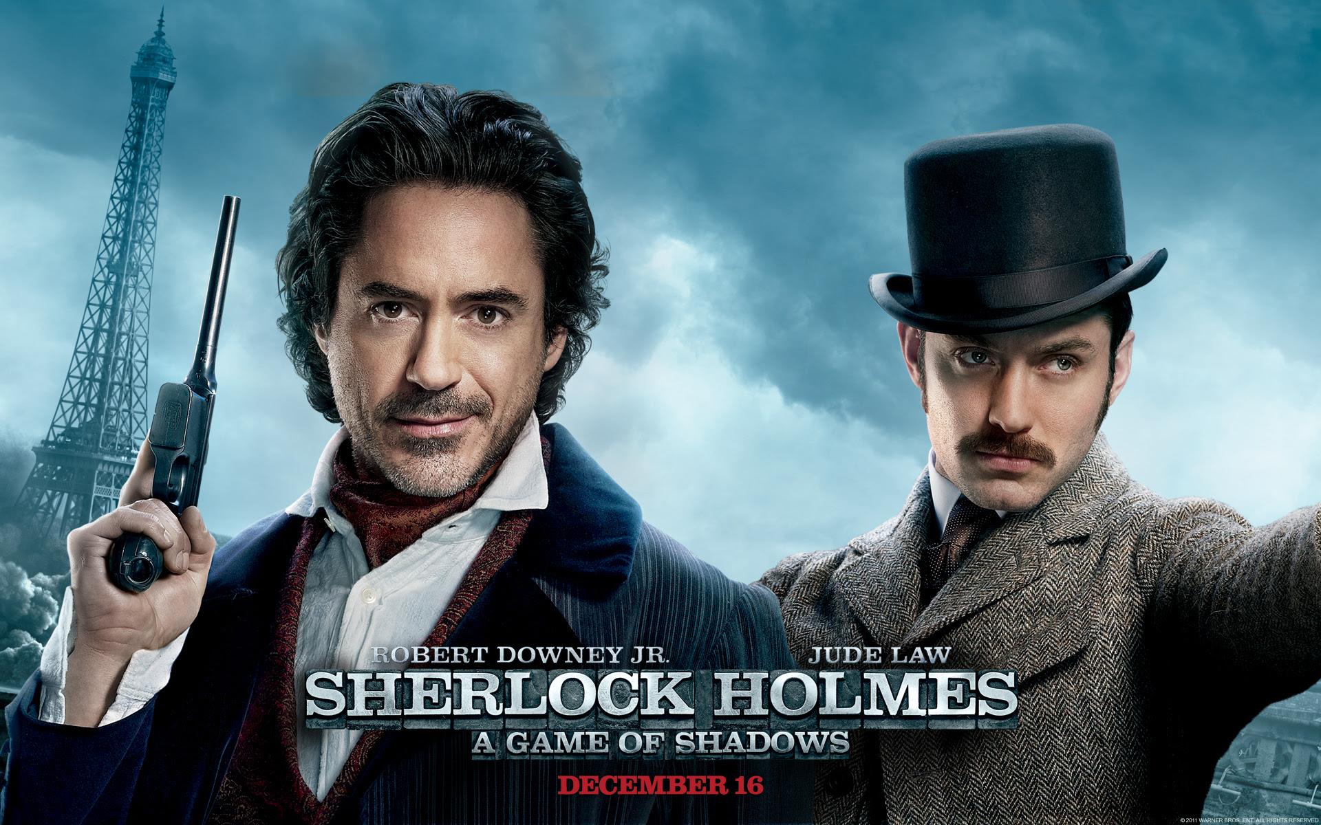Sherlock Holmes A Game Of Shadows Wallpaper Movies