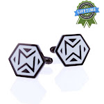 Mollywhopper Designer Cuff Links, Timeless Sophistication Combined with Modern Style