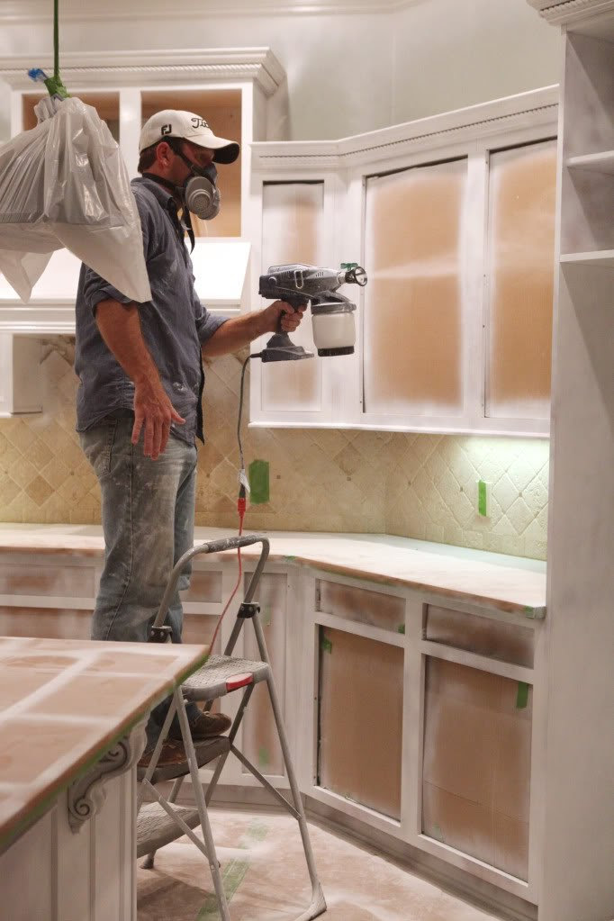 How To Paint Kitchen Cabinets: Home DIY Tips & Tricks ...