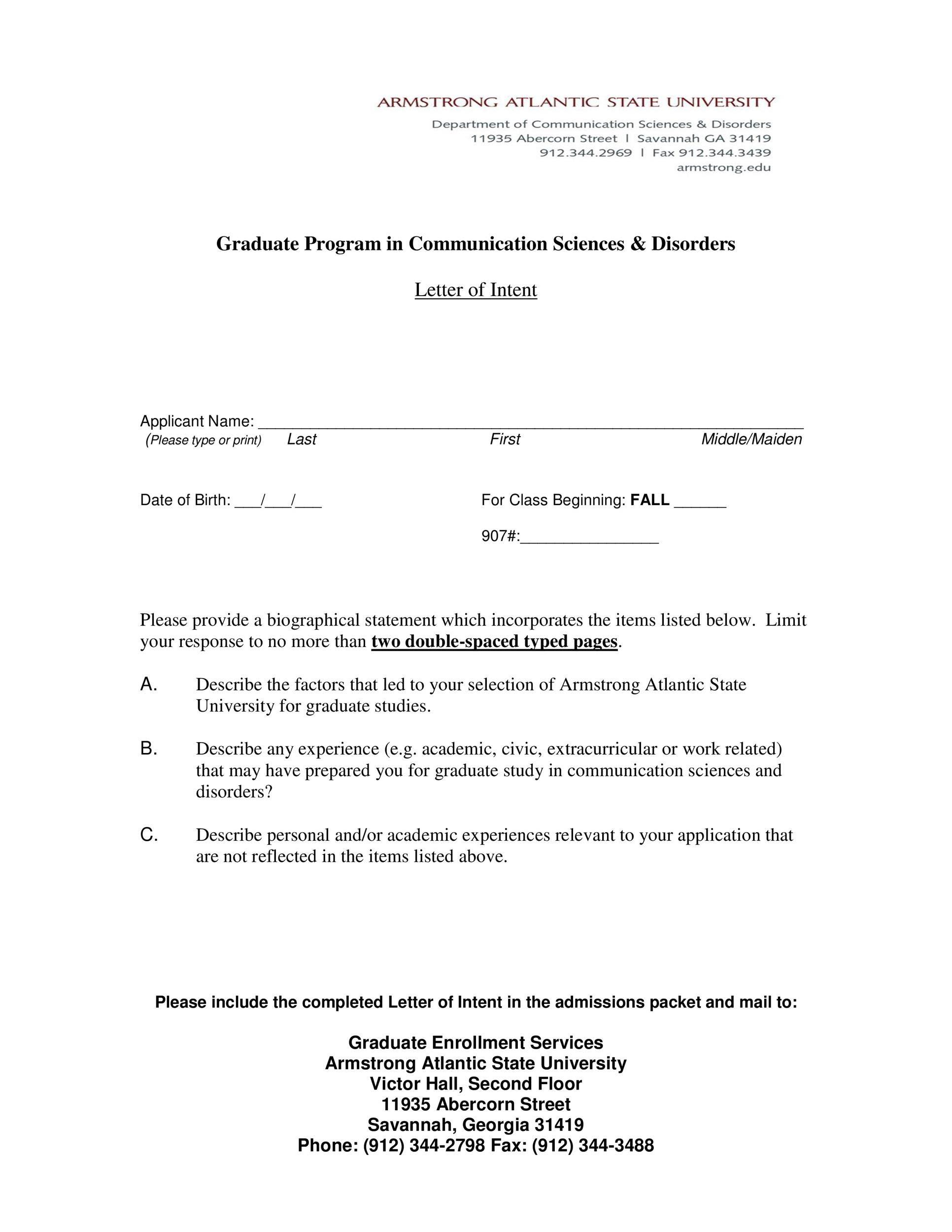 Letter Intent Sample Canada Shouldirefinancemyhome