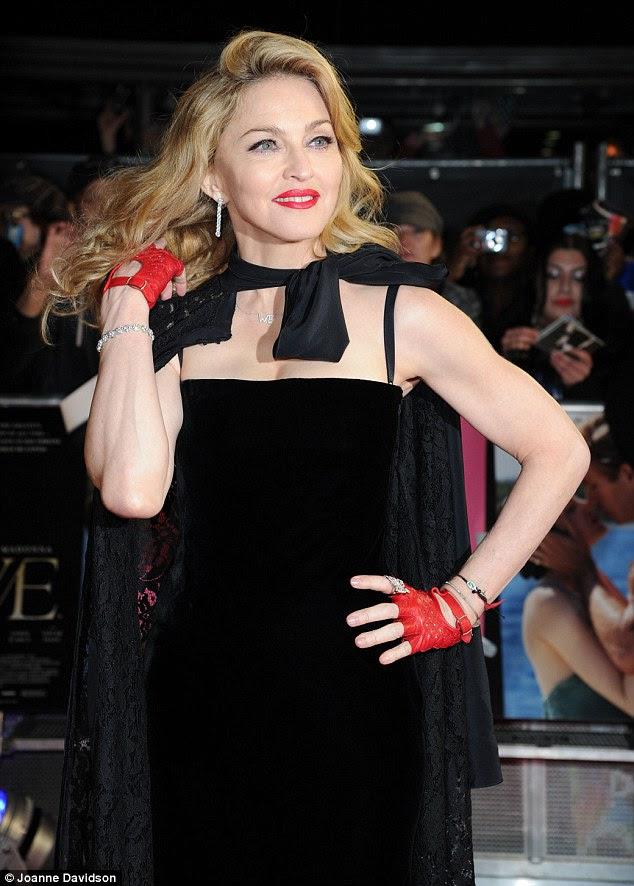 Músculos como nenhum outro: Madonna mostrou seu bíceps impressionantes, um reflexo de sua obsessão ginásio
