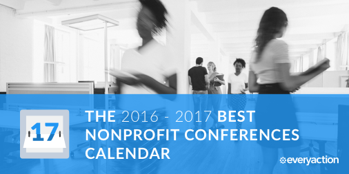 The 2017 Best Nonprofit Conferences Calendar