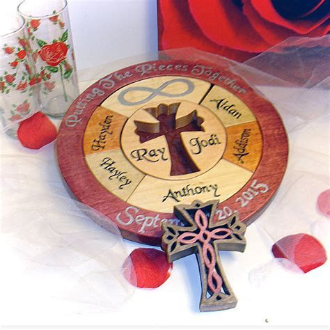 Unity Cross Wedding Puzzle Unity Ceremony Alternative
