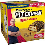 Robert Irvine Fit Crunch Whey Protein Bars - 18 count, 29.21 oz box