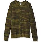 Alternative Eco-Fleece Champ Crewneck Sweatshirt-Camo-XL