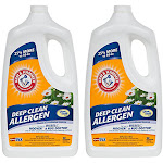 Arm & Hammer Deep Clean with Stain Fighters Carpet Cleaner 64 oz (2 Pack) by VM Express
