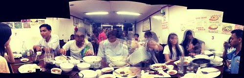 Week 7, 2012: Valentine's Day dinner with my Agape family