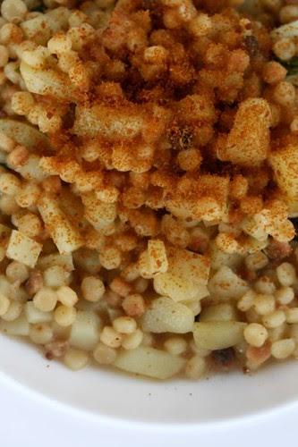 Fregola patate e bottarga_2