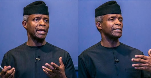 It is Unfair to compare our three years in office to with PDP's 16 years of governance' – VP, Yemi Osinbajo