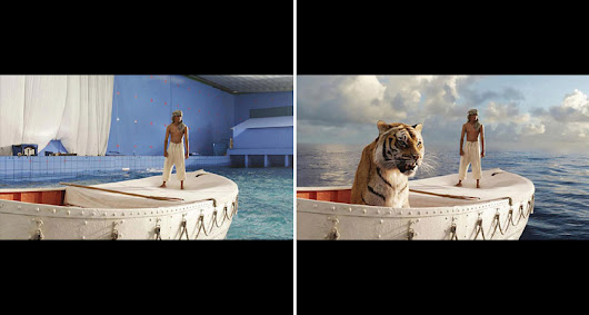 46 Famous Movie Scenes Before And After Special Effects