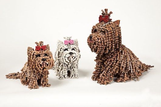 Dog Sculptures | Upcycle That