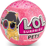 L.O.L. Surprise! Pets Ball mystery bubble Eye Spy Glass Series 4-1 with 7 Surprises
