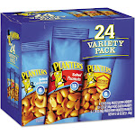 Planters Variety Pack Peanuts & Cashews 1.75 oz/1.5 oz Bag 24/Box 884624