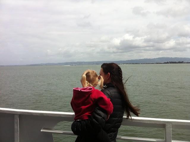 boat ride to Alcatraz