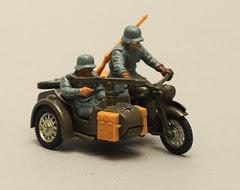 Motorcycle & Sidecar