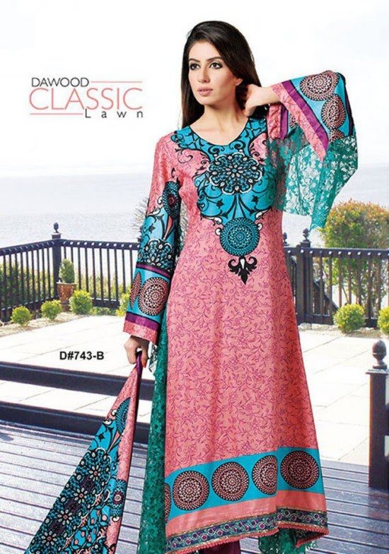 Dawood-Textile-Classic-Lawn-Collection-2013-New-Latest-Fashionable-Clothes-Dresses-17