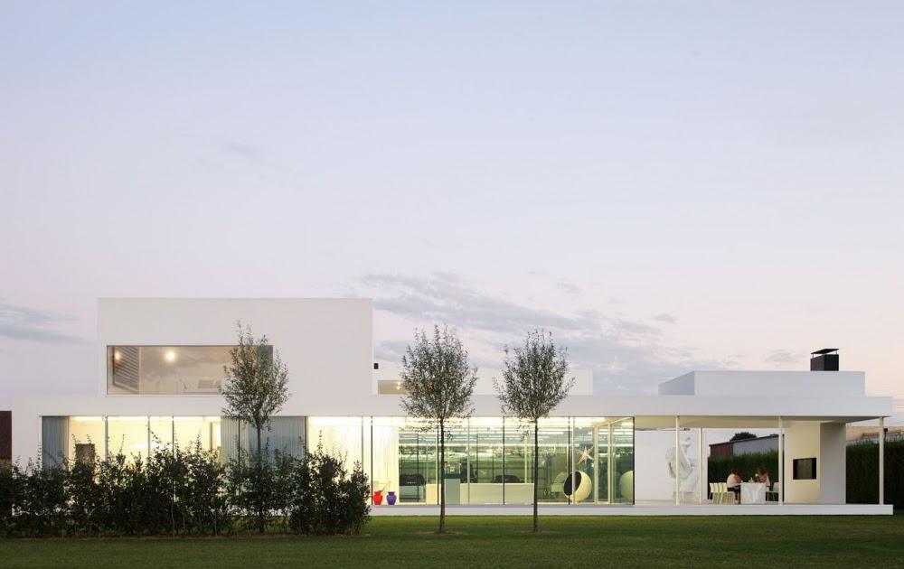 Villa vh en t beel achtergael architecten blog y for Blog arquitectura y diseno