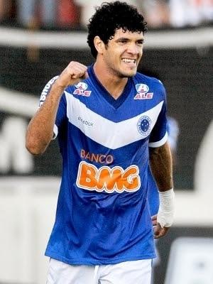 Ortigoza Comemora Gol Cruzeiro Atletico-MG Final Campeonato Mineiro 08/05/2011