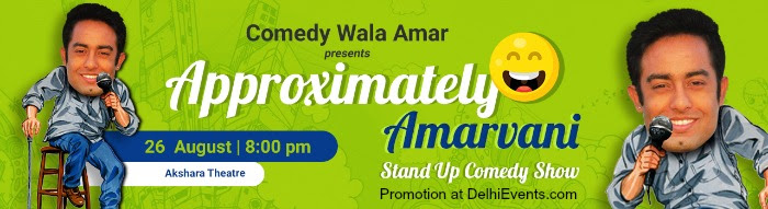 Comedy Wala Amar Approximately Amarvani Standup Comic Act Creative