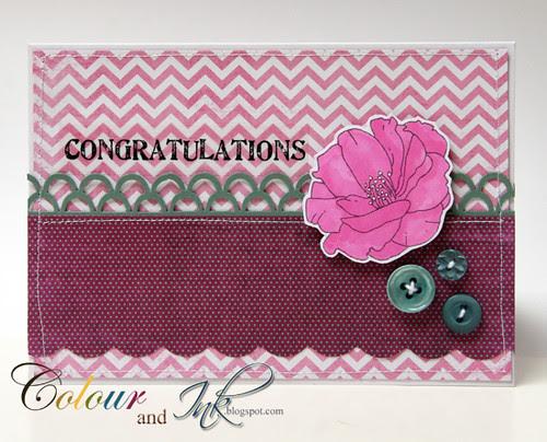 Congratulations Card by Deirdre - Irl