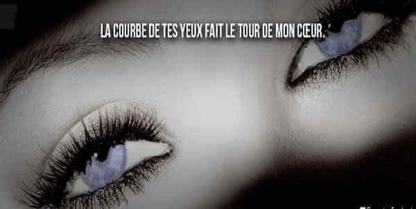 Ton Regard Poème Et Citations Sur La Beauté Des Yeux