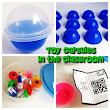 Toy capsules and QR codes - a fun idea for adding an interesting twist to learning! #edtech | Ed Tech | Pinterest