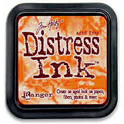 Distress Ink Spiced Marmalade & Oxide