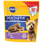 Pedigree 10119166 6 oz. Dentastix Mini Dog Treat.
