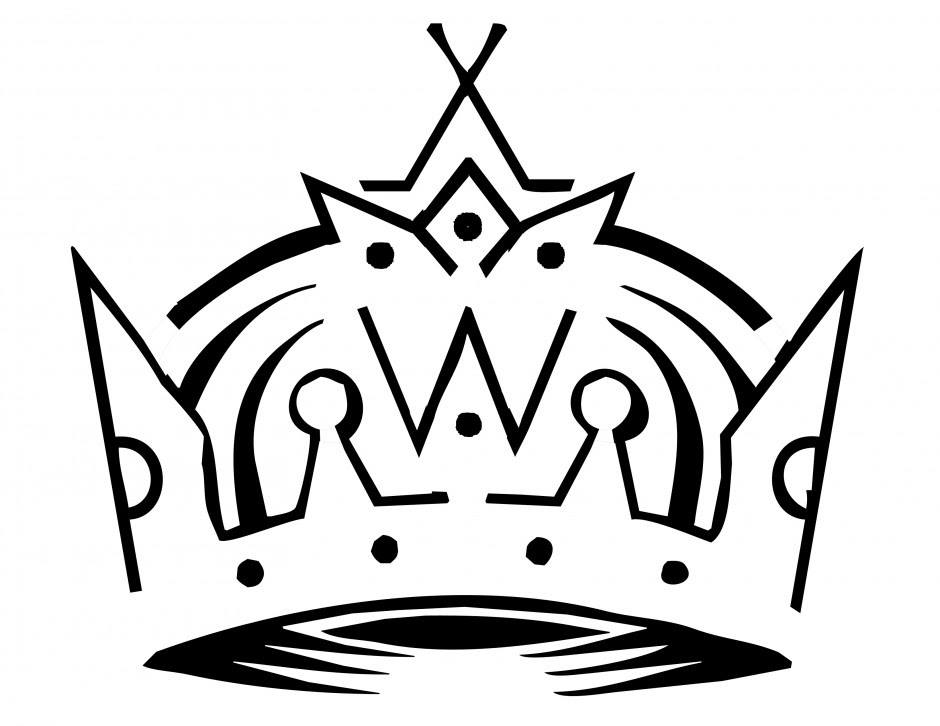 Crown Black And White Clipart Free Download Best Crown Black And