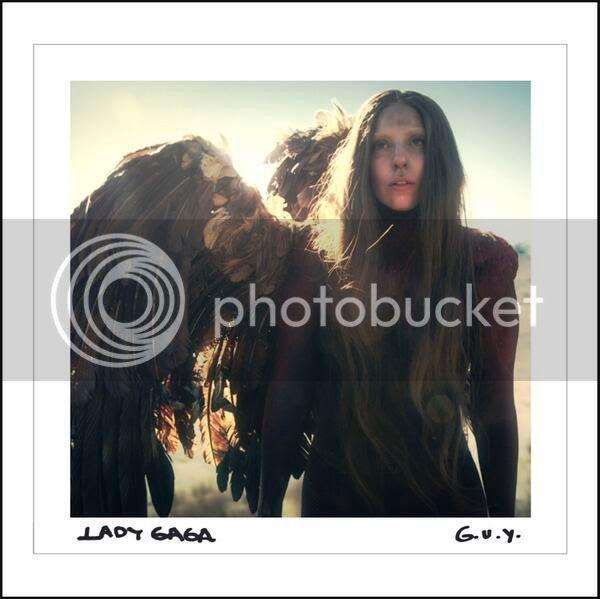 Lady Gaga unveils official artwork for new single 'G.U.Y.'