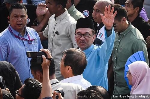 PRK PD: Pencabar Anwar hanya rebut undi pembangkang