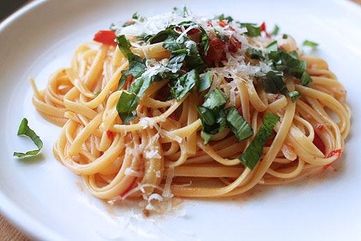 image recipe one pan pasta