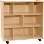 Contender C15500-36W 8 Open Shelf Storage Unit - RTA