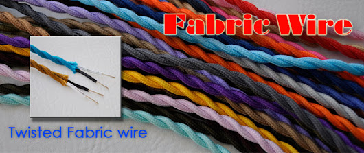Twisted Cloth Covered Wire from Fabric Wire