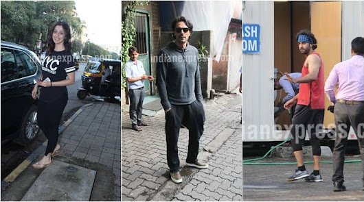 PHOTOS: Julie 2 actor Raai Laxmi, Arjun Rampal, Ranbir Kapoor and other celeb spotting | The Indian Express